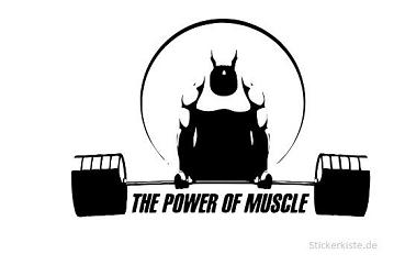bodybuilding Gym fitness Wandtattoo Wallpaper Wand Schmuck 50 x 90 cm Wandbild