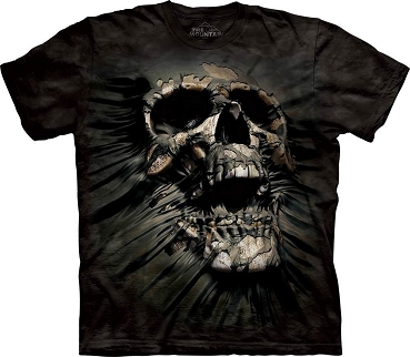 the mountain t-shirt Breaking Skull Totenkopf Gr