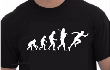 T-Shirt Evolution Runner Gr