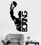 Boxing Gym fitness Wandtattoo Wallpaper Wand Schmuck 57 x 89 cm Wandbild